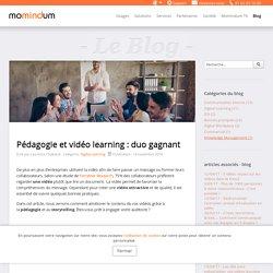 Pédagogie et vidéo learning : duo gagnant