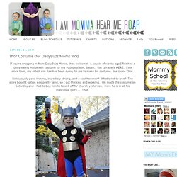 Thor Costume (for DailyBuzz Moms 9x9)