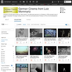 German Cinema from Lutz Mommartz : Free Movies : Free Download, Borrow and Streaming