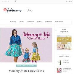 Mommy & Me Circle Skirt Tutorial