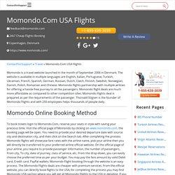 Momondo.com USA Flights +1-855-635-3039 - 24 Hour Cancellation