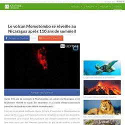 Le volcan Momotombo se réveille au Nicaragua après 110 ans de sommeil
