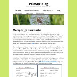 Mompitzige Kurzwoche – Prima(r)blog