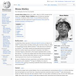 Moms Mabley - Wikipedia
