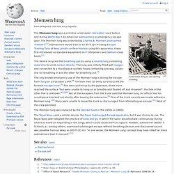 Momsen lung