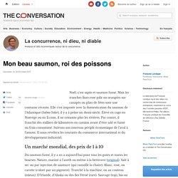 L'économie du saumon, roi des tables de fêtes