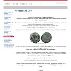 MON BESTIAIRE A MOI - monnaies-romaine
