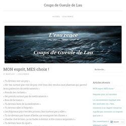 Coups de Gueule de Lau