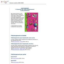 Mon journal de 6e - 2003-2004