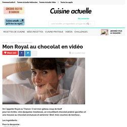 Mon Royal au chocolat