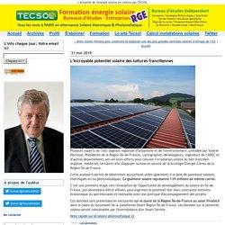L'incroyable potentiel solaire des toitures franciliennes - Tecsol