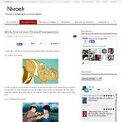 » Mon Top 10 des Films D'animation Blog d'un(e) ciné-geek(ette)