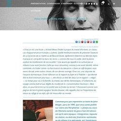Mona Chollet : « Écrire, c'est un acte à part entière »
