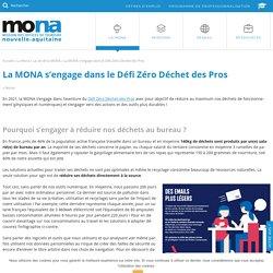 La MONA s'engage dans le Défi Zéro Déchet des Pros