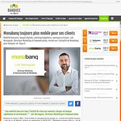 Monabanq toujours plus mobile pour ses clients