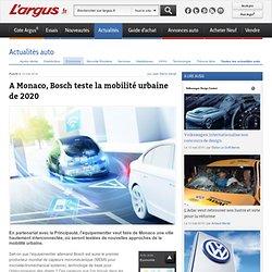 A Monaco, Bosch teste la mobilité urbaine de 2020