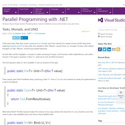 Parallel Programming with .NET