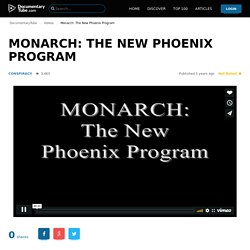 Monarch: The New Phoenix Program
