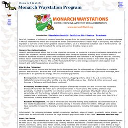 Monarch Watch : Monarch Waystation Program