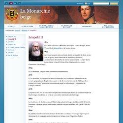 La Monarchie belge: Accueil - Histoire - Léopold II