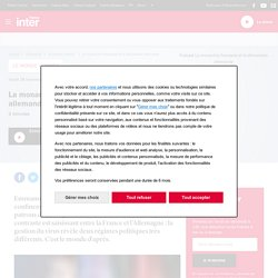 La monarchie française et la démocratie allemande