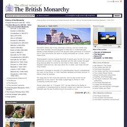 The early Scottish Monarchs > Macbeth