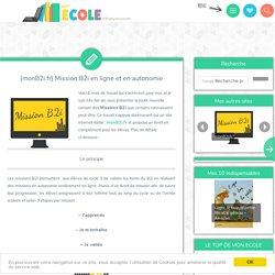 [monB2i.fr] Mission B2i en ligne et en autonomie