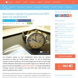 Mondaine rajoute le paiement par NFC dans sa smartwatch