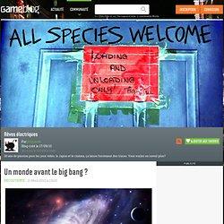 Un monde avant le big bang ?