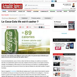 Le Coca-Cola life est-il casher ?