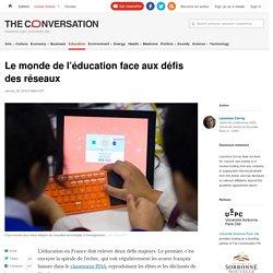 Le monde de l'éducation face aux défis des réseaux