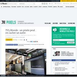TV5 Monde: un pirate peut en cacher un autre