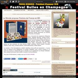 Le Monde propose l'histoire de France en BD