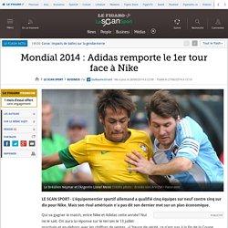Mondial 2014 : Adidas remporte le 1er tour face à Nike