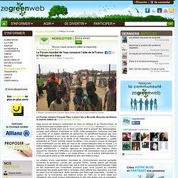Le Forum mondial de l'eau consacre l'aide de la France à l'Afrique et à Gaza