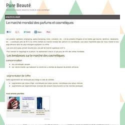 Le marché mondial des parfums et cosmétiques « Actualités De La Beauté &Laquo; Actu Beauté « Pure Beauté