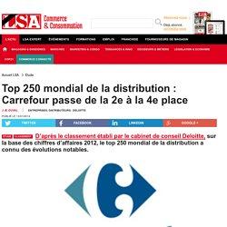 Top 250 mondial de la distribution : Carrefour