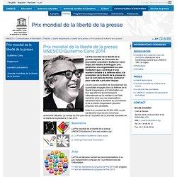 3. Unesco : Prix mondial de la liberté de la presse
