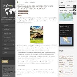 Atlas mondial des espaces protégés, les sociétés face à la nature