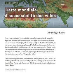 Carte mondiale d'accessibilité des villes