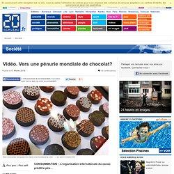 Vidéo. Vers une pénurie mondiale de chocolat?