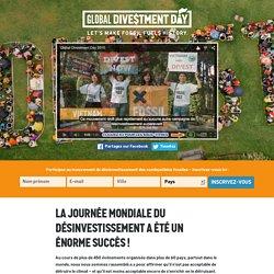 Fossil Free France – La Journée Mondiale du Désinvestissement a été un énorme succès !