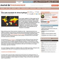 Une carte mondiale du stress hydrique
