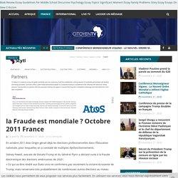 la Fraude est mondiale ? Octobre 2011 France - Citoyen tv