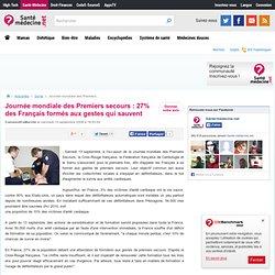 Journée mondiale des Premiers secours : 27% des Français formés aux gestes qui sauvent