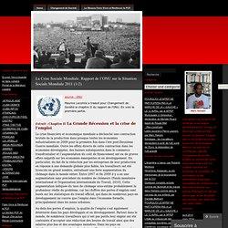 La Crise Sociale Mondiale. Rapport de l'ONU sur la Situation Sociale Mondiale 2011 (1/2)