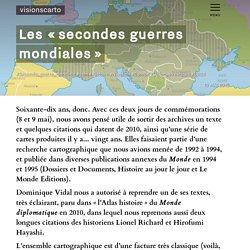 Les « secondes guerres mondiales » - Dominique Vidal et Philippe Rekacewicz