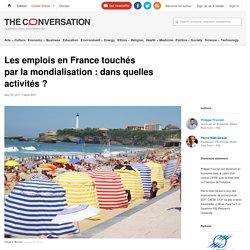 Les emplois en France touchés parlamondialisation: dansquelles activités?