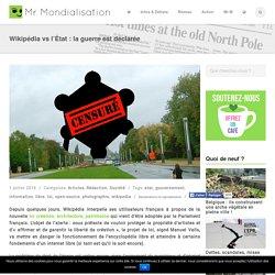Wikipédia vs l'État : la guerre est déclarée