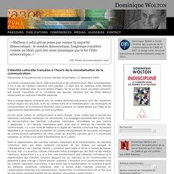 L'identité culturelle française à l'heure de la mondialisation de la communication